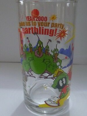 IXL Collectables Glass Marvin The Martian 2000  Looney Tunes No 4 of 6