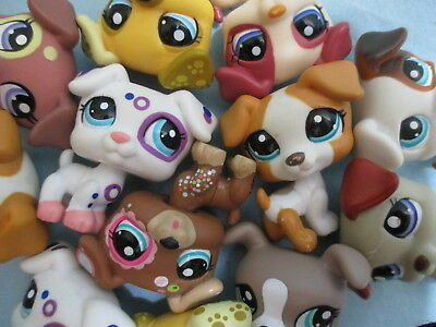 Littlest Pet Shop Lot 2 Random Jack Russell Puppy Dog Authentic BUY 3 GET 1 FREE