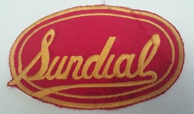 SUNDIAL ENGINES  Cloth PATCH