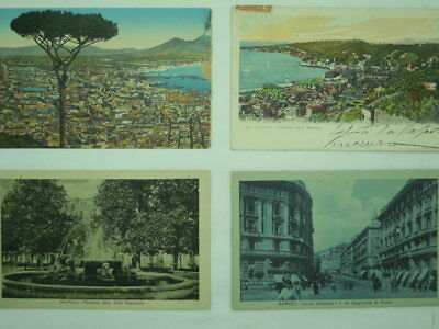Citta'-Napoli-Lotto 8 Cartoline-Of2-S66514