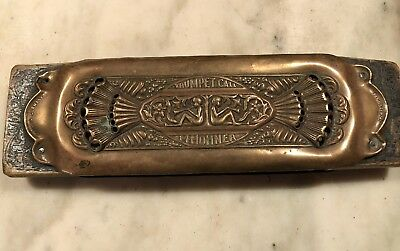Vintage Circa 1931 M Hohner Trumpet Call Harmonica 32 Holes Double  Germany