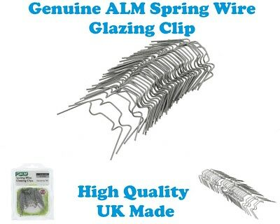 Greenhouse Universal Alm Spring Wire Glazing Clips Pack Of 50