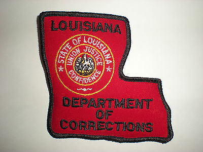 Louisiana Department Of Corrections Patch