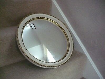 Genuine Vintage Large  Atsonea Convex Mirror Made In England With Original Label
