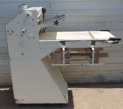 Acme Model 8 Dough Roller Floor Roll-Sheeter Machine Double Pass Bakery Conveyor