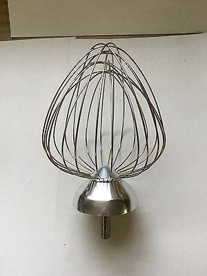 Waring Commercial WSM7W Stainless Steel Chef Whisk For WSM7Q Mixer
