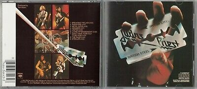 Judas Priest - British Steel  (CD, Columbia) 1990 CK 36443