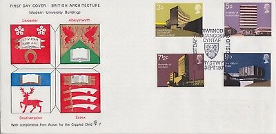 Gb Stamps First Day Cover 1971 University Aberystwyth Special Rares Collection