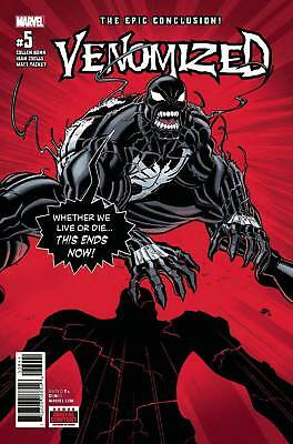 Venomized #5 Marvel comic 1st Print 2018 unread NM