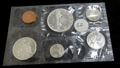 1962 Canadian Silver Proof Like Set no packaging