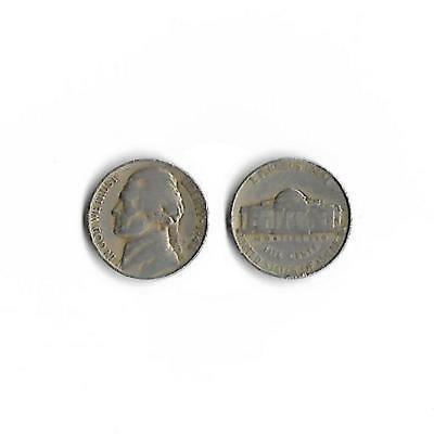 5c USA five cents Nickel 1948 Jefferson