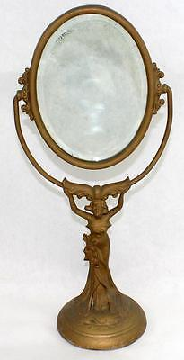 Original Antique Classic Early 1900's Art Nouveau Dresser Mirror