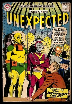 Tales of the Unexpected 16 vintage DC Silver Age comic book science fiction