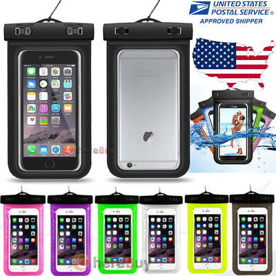 Waterproof Underwater Phone Pouch Bag Case Cover For Iphone Samsung Cell Phone
