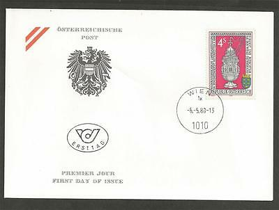AUSTRIA - 1988  National Exhibit in the Seitenstetten Monastery - F.D.COVER.