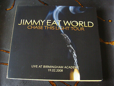 Slip Double: Jimmy Eat World : Chase This Light Tour Live Birmingham 2008
