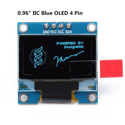 "NEW 128X64 OLED LCD LED Display Module SSD1306 For Arduino 0.96"" I2C IIC Serial"