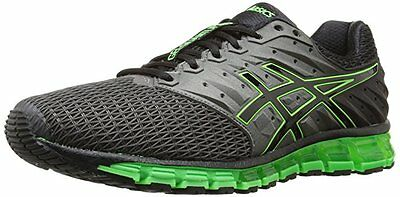 Asics Gel QUANTUM 180 2 Mens Running Shoes size 11.5 NEW CARBON BLACK GECKO