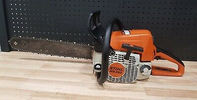 Stihl Ms250 Ms 250 Chainsaw Chain Saw With Sleeve + Hard Case - Good Condition