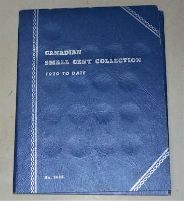 Canada Small Cent Album with 27 coins