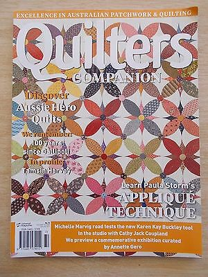 Quilters Companion #72~Vic Tiles (pt 1)~Hibiscus~Alabama Beauty~Bouncing Beans