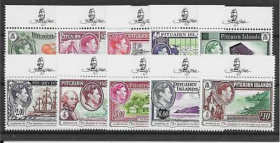 Pitcairn Islands 2015 Stamp Anniversary Definitive Set Mnh