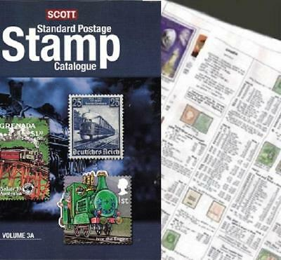 Gilbert and Ellice Islands 2019 Scott Catalogue Pages 367-372