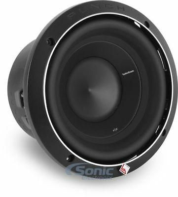 "ROCKFORD FOSGATE P2D4-8 8"" Punch P2 500 Watt 4-Ohm DVC Car Audio Subwoofer P2D48"