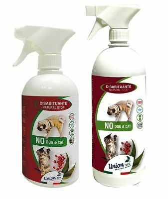 NO DOG E CAT DISABITUANTE Natural Stop con oli essenziali naturali