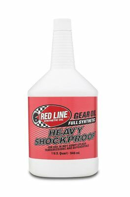 Red Line 58204-12PK Heavy ShockProof Gear Oil - 1 Quart, Pack of 12