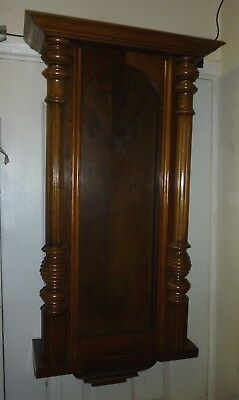 Original Antique Vienna Wall Clock Case