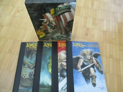 KARL THE VIKING 4 HC in Slipcase - Don Lawrence (Trigan Empire)  signed