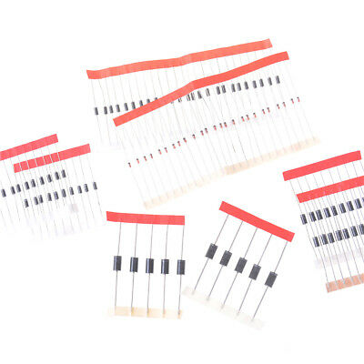 8 Value 100Pcs Schottky Diode Assortment Kit IN4007 IN4148 IN5822 FR107 HF