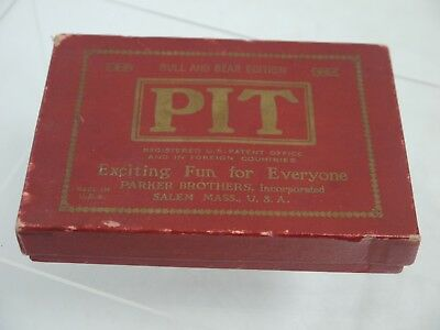 Original Pit Game, Bull and Bear Edition by Parker Brothers (BW120)