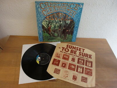 Creedence Clearwater Revival Suzie Q Same LP Rare UK Liberty Press 1970 Mint