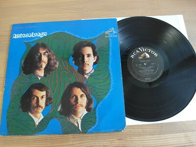 Autosalvage Us Pressing In 1968 Psychedelic Music Lp
