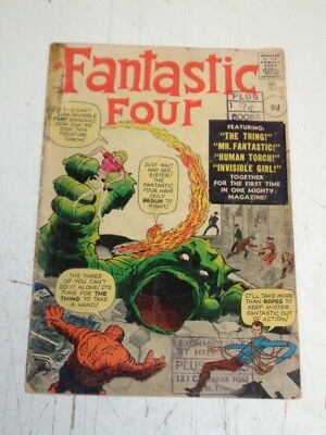 Fantastic Four #1 Fr (1.5) Original Copy Complete Cheapest Copy In The World