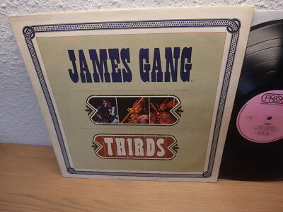 THE JAMES GANG: THIRDS. UK 1st Press LP. PINK PROBE LABELS. SPB 1038 (1971)