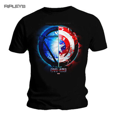 Official T Shirt Marvel Captain America Civil War   Whose Side All Sizes