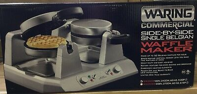 Waring WW250X Commercial Side By Side Waffle Maker NEW IN BOX