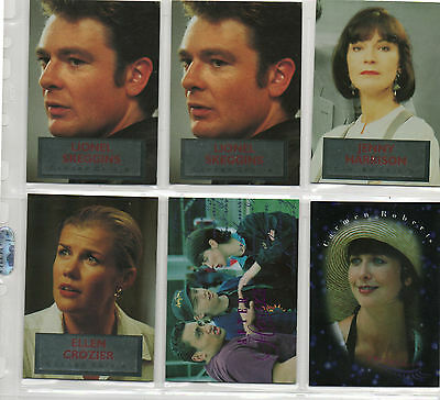 Shortland Street - Lot Of 6 Chase Cards EX Card Crazy 1995
