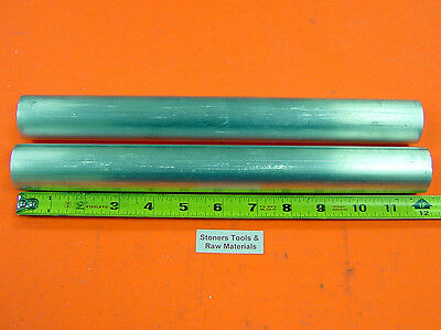 "2 Pieces 1-1/16"" 6061 ALUMINUM ROUND ROD 12"" long T6511 Solid Lathe Bar Stock"