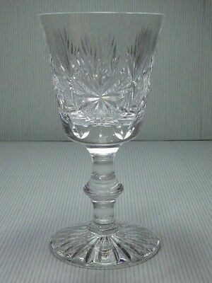 Edinburgh Crystal Star of Edinburgh Claret Wine Glass