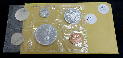 1966 Canadian Silver Proof Like Set in mint packaging