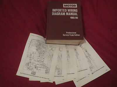 1985 1986 isuzu i-mark impulse pickup trooper ii wiring diagrams schematics
