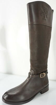 698c5a5f3d9c Tory Burch Brown Suede Leather Simone Tall Riding Boots Size 8 New  525  Women s