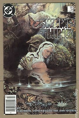 Swamp Thing (2nd Series) Canadian Price Variant #34 1985 VG+ 4.5