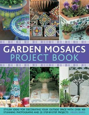 NEW Garden Mosaics Project Book By Celia Gregory Paperback Free Shipping