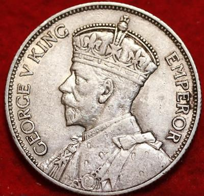 1936 Southern Rhodesia Silver 2 Shilling Foreign Coin