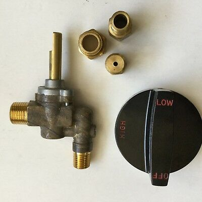 """Southbend 3/8"""" Gas Burner Valve Kit # 4440395 NEW INVENTORY CLOSEOUT"""